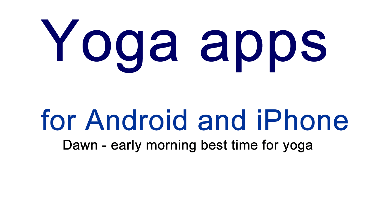 mobile yoga app for stretching exercises and flexibility